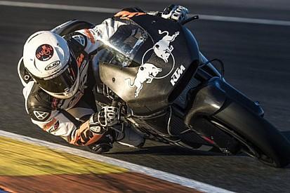 Primo test con la KTM per Mika Kallio a Valencia
