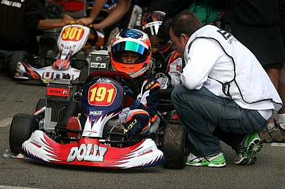 Pela primeira vez, Barrichello participa de prova com filho