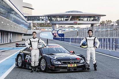 Sebastian Asch und Luca Ludwig absolvieren Test im DTM-Meisterauto