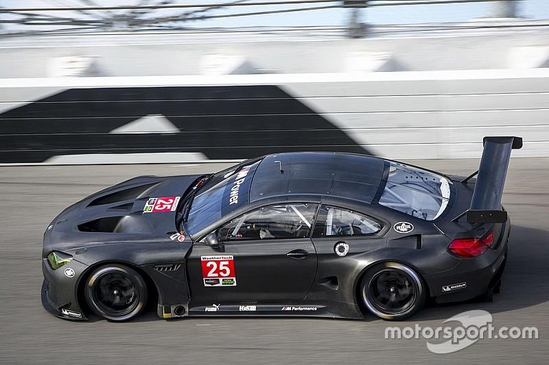 La BMW M6 GTLM à l'épreuve de la piste à Daytona