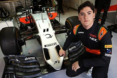 Celis Jr soddisfatto del suo debutto sulla Force India