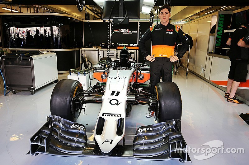 Alfonso Celis Jr. completa su test con Force India y obtiene su súper licencia -Video