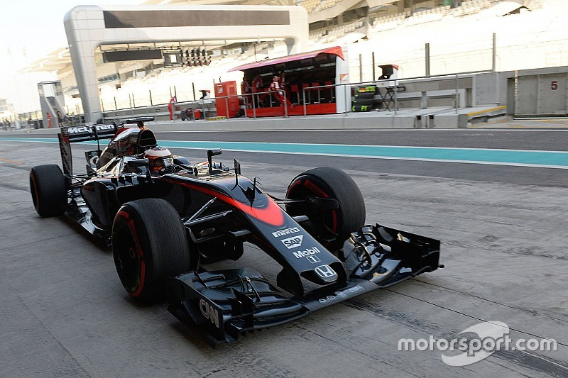 Vandoorne ends Abu Dhabi tyre test on top