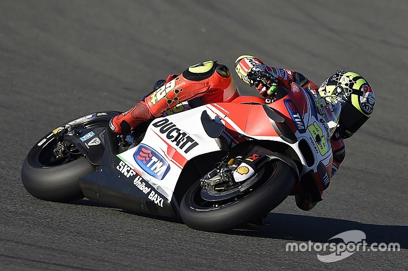 """Iannone has """"really good feeling"""" with Michelin tyres"""