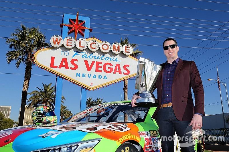 Kyle Busch, Champion de la NASCAR Sprint Cup, retourne à Las Vegas