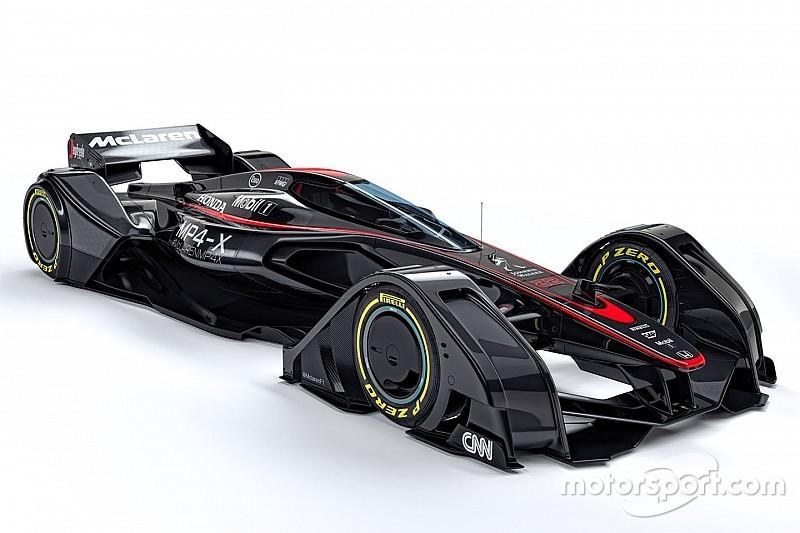 مكلارين تُقدّم مفهومها الخاص لسيارات الفورمولا واحد المُستقبليّة