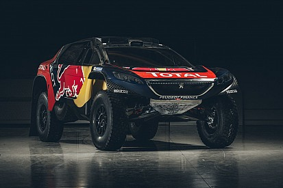 Foto's: Peugeot onthult livery voor Dakar Rally