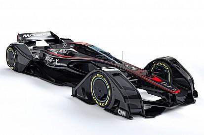 """McLaren revela conceito de """"carro do futuro"""" da F1; veja"""