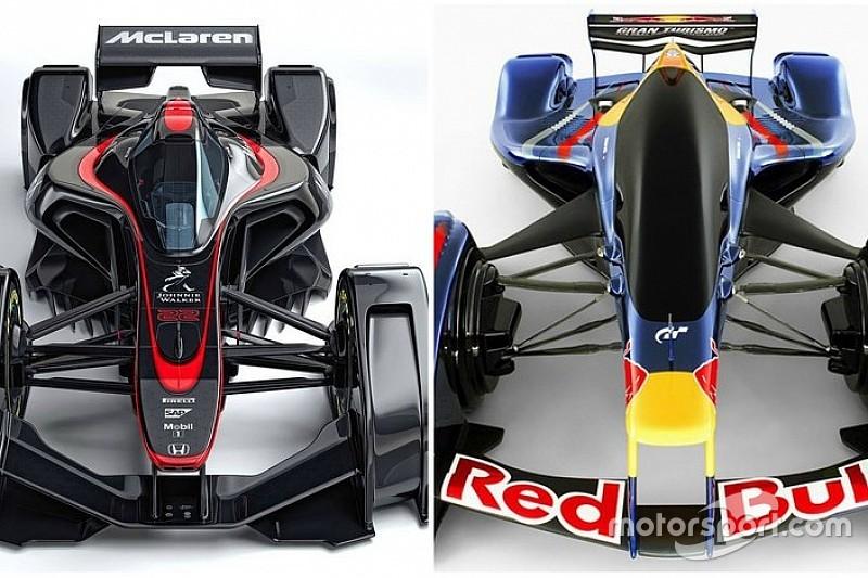 Formel-1-Designstudie: Red Bull nimmt McLaren aufs Korn