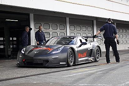 Neue Callaway Corvette mit erstem Test in Hockenheim