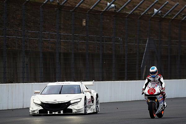 Alonso-Marquez: che scambio al Thanks Day Honda!