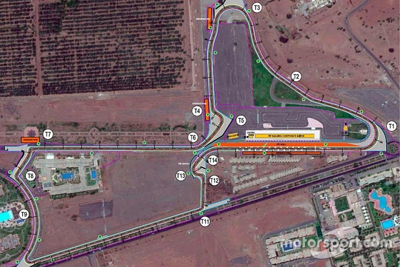 Трассу в Марракеше ожидает масштабная реконструкция