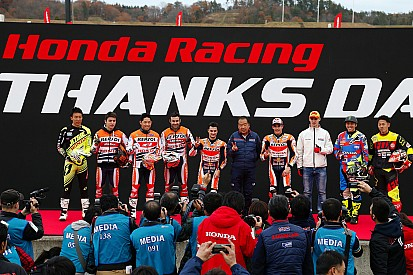 Marquez and Pedrosa attend Honda Racing's Thanks Day event