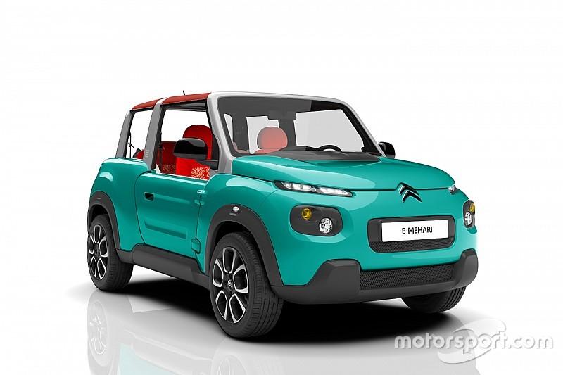 Citroën présente la nouvelle E-Méhari