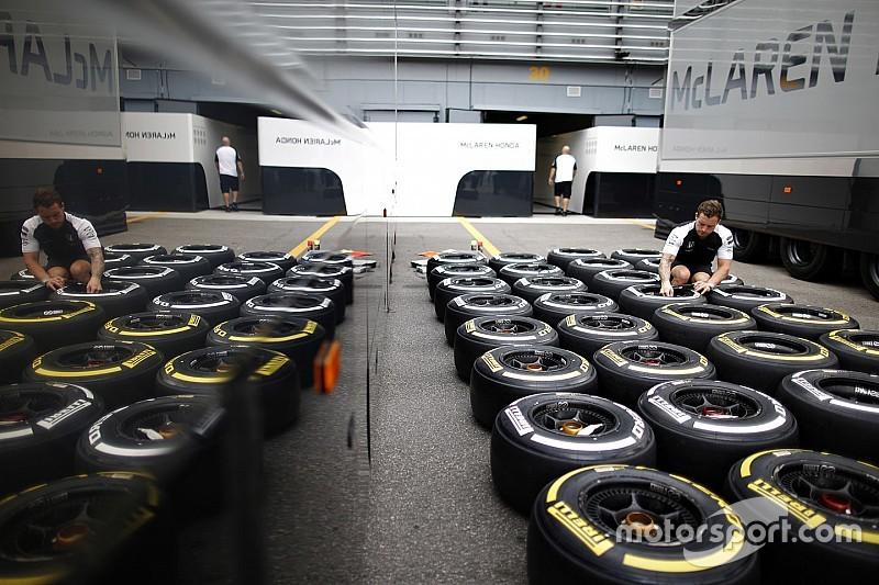 Команды должны выбрать шины для ГП Австралии в эту пятницу