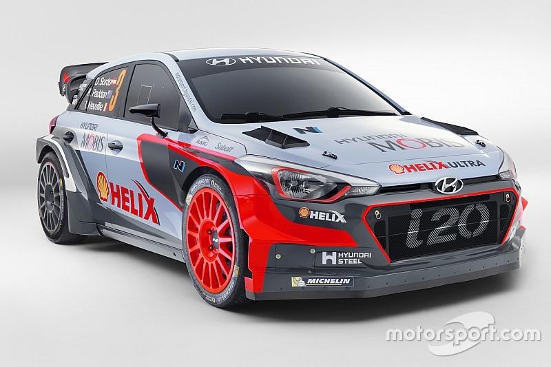 Hyundai официально представила новый i20 WRC