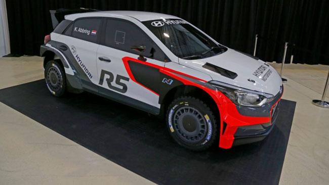 Ecco il primo prototipo della Hyundai i20 R5