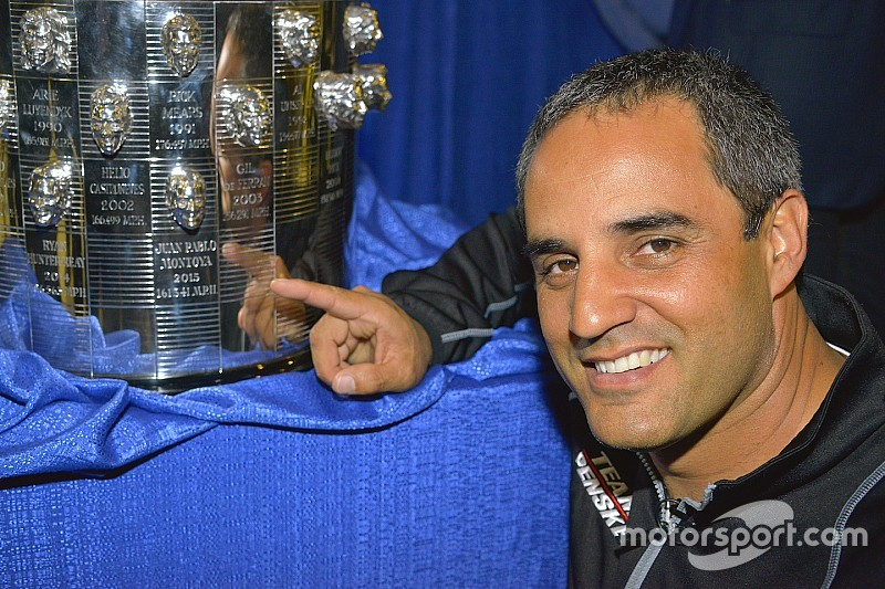 Montoya révèle son autre visage sur le trophée des 500 Miles