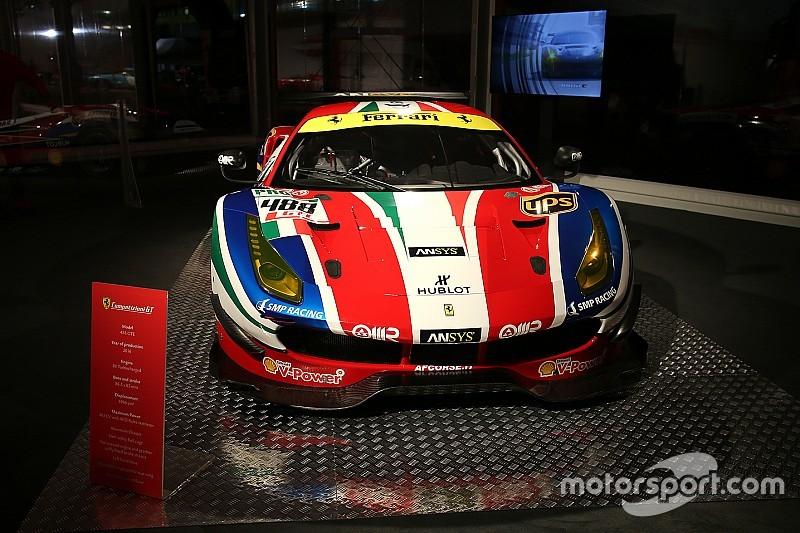 La Ferrari 488 GTE debutta alla 24 Ore di Daytona