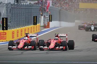 Ferrari-Techniker: Kimi Räikkönen treibt Sebastian Vettel richtig an