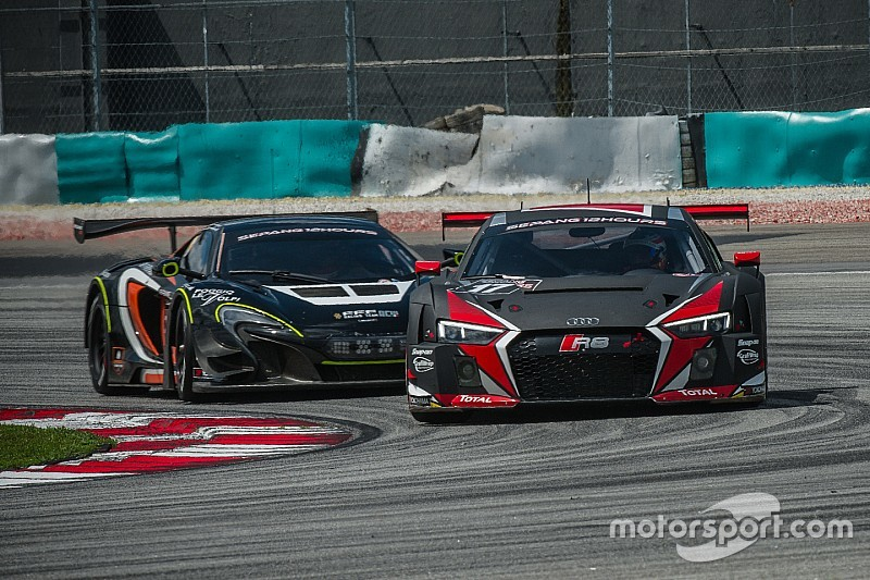 One-two-three win for new Audi R8 LMS at Sepang
