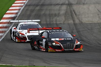Une victoire pleine d'émotion pour Audi WRT à Sepang