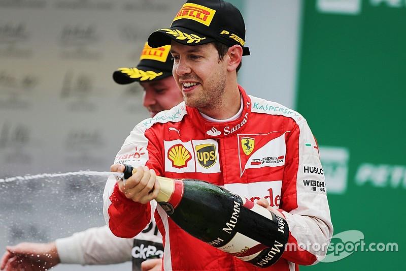 """Sebastian Vettel: """"Das erste Jahr bei Ferrari war fantastisch"""""""
