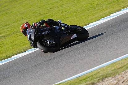 Althea in pista a Vallelunga per testare la S1000