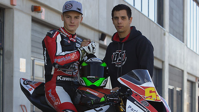 Ilya Mikhalchyk in Supersport con il DS Junior Team