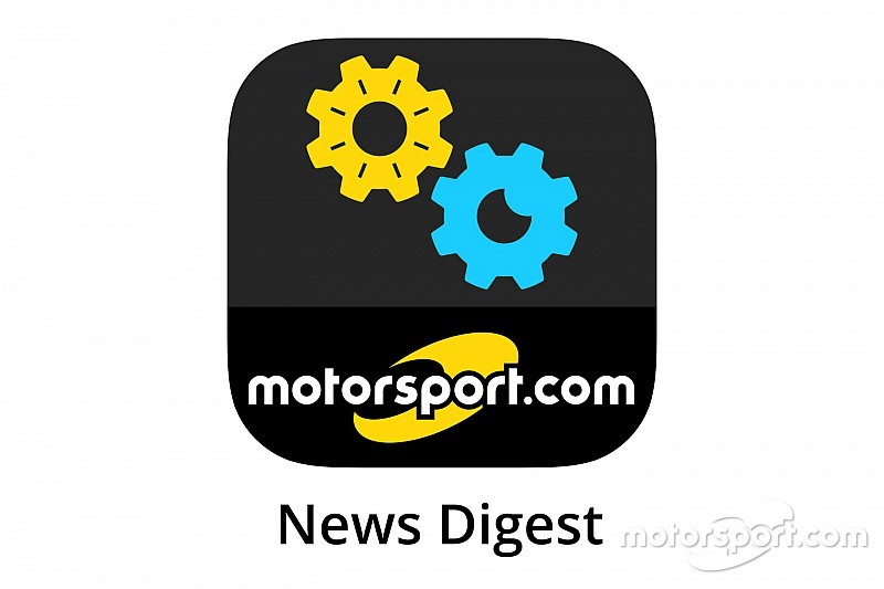 Motorsport.com lance l'application Motorsport.com News Digest