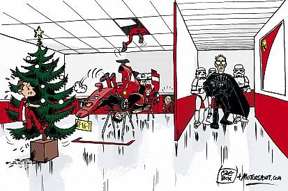 """El humor de Cirebox - Cuando Marchionne """"aterroriza"""" a Ferrari"""