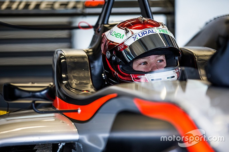 Mazepin joins Hitech for 2016 European F3 campaign