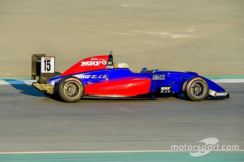 Dubai MRF Challenge: Calderon takes flag, but Reddy wins