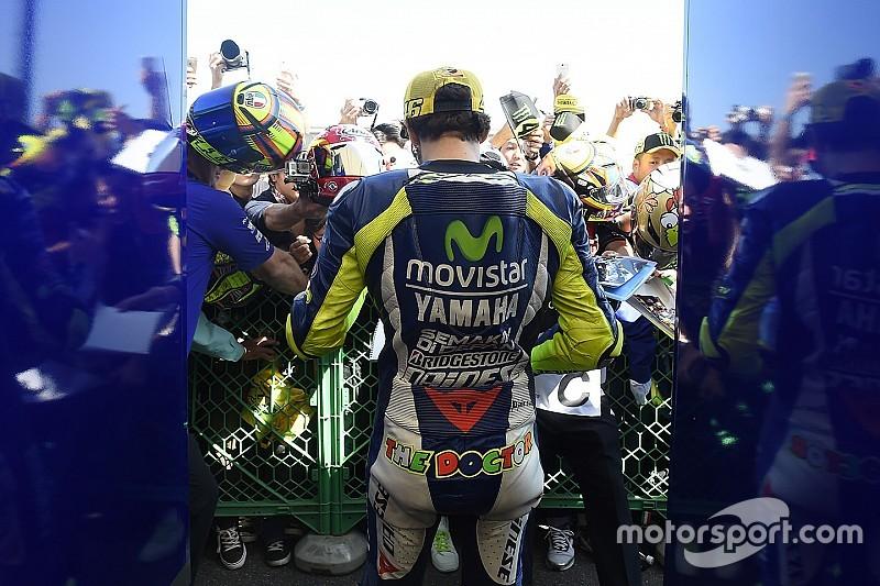 bd0bd6bb1ee La marque d habillement de Valentino Rossi liée pour 3 ans à Yamaha