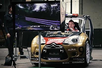 Vidéo - Sébastien Loeb teste son propre jeu!