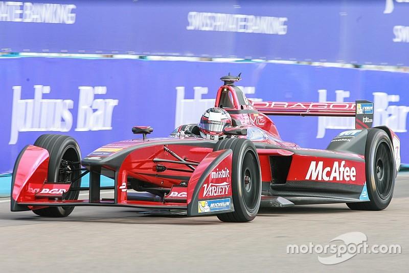 D'Ambrosio lidera una primera fila exclusiva de Dragon Racing