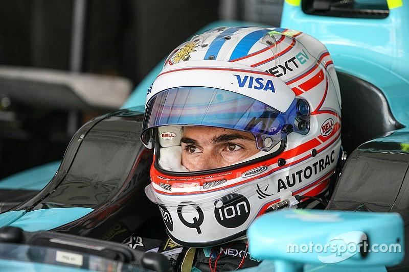 "Piquet jr. eindigt Formule E-race met harde klap: ""Misschien door de touché"""