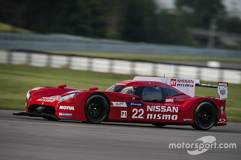 "Piquet says Nissan WEC outing ""just a test"""