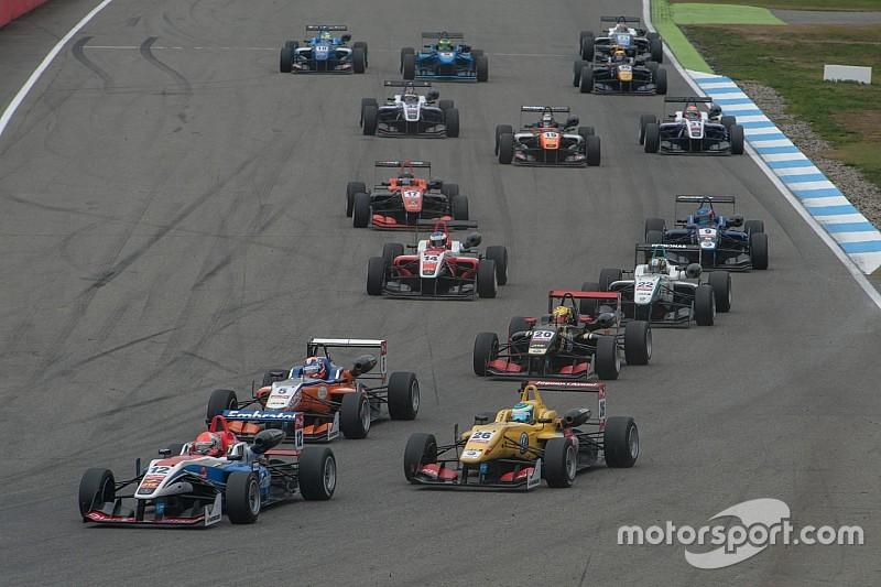 Formel-3-EM 2016 mit zehn Veranstaltungen und über 30 Autos