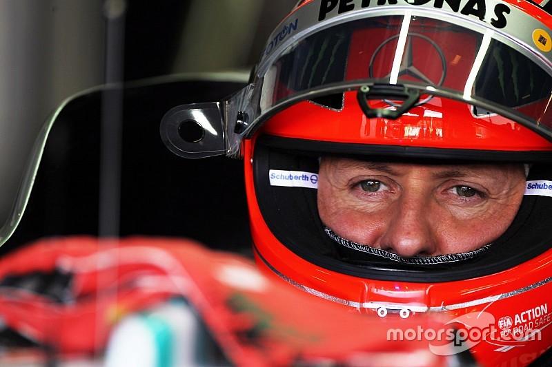 """Schumacher qui marche à nouveau, une rumeur """"irresponsable"""" et fausse"""