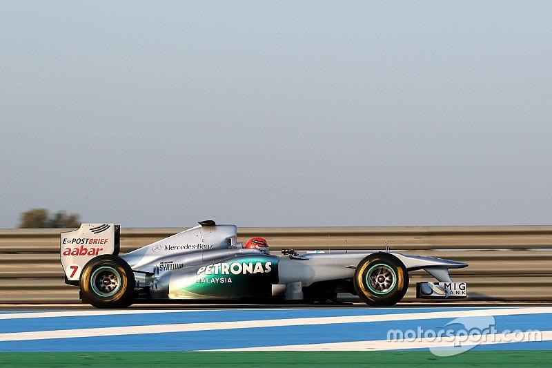 """Fotostrecke: Die """"zweite"""" Formel-1-Karriere von Michael Schumacher"""