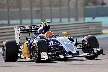 "Sauber - Nasr promet un design ""différent"" et ""agressif"" en 2016"