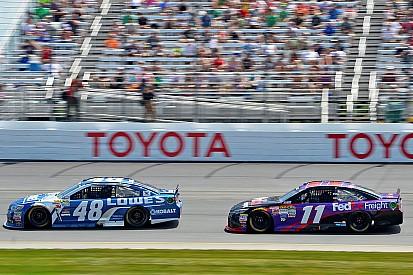 Le phénomène d'aspiration en NASCAR