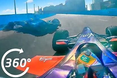 Video, la camera-car del botto di Piquet in Uruguay