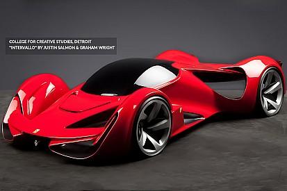 A quoi pourrait ressembler une Ferrari en 2040?