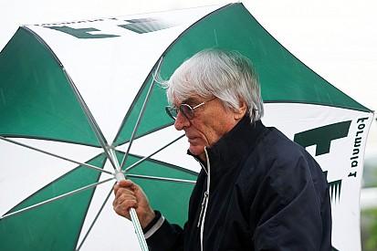 """Ecclestone vê GP dos EUA em risco: """"difícil fazer previsões"""""""