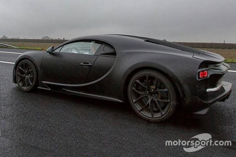 Gelekt: topsnelheid Bugatti Chiron bedraagt 467 km/u