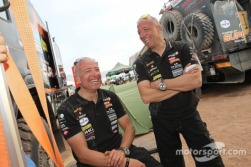 Keeping up with the Coronels: Getting ready for Dakar