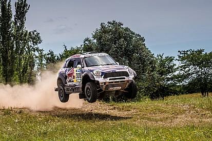 Defending Dakar Rally champion returns in style