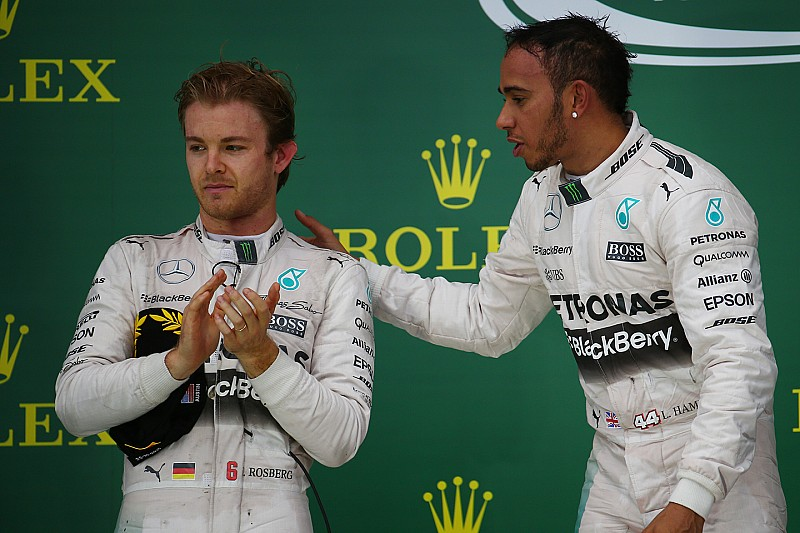 Nico Rosberg: Eine Trennwand in der Mercedes-Box?